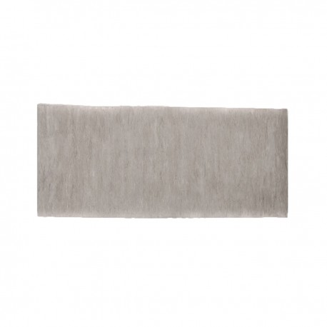 """12"""" Plain Concrete Gravel Board for Slotted Posts - Lightweight"""