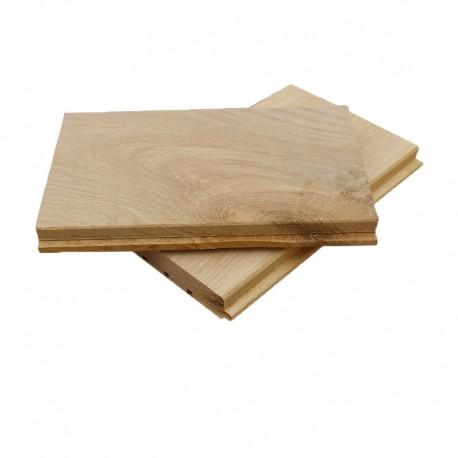 Character Grade Unfinished European Oak Flooring