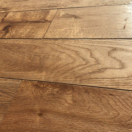 Engineered Oak Flooring - Brushed and Oiled Natural Oak