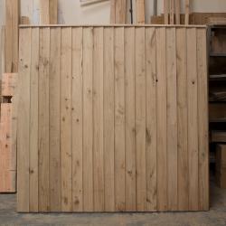 Oak Featheredge Fence Panel