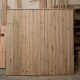 Oak Featheredge Fence Panel - Front View