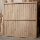 Oak Featheredge Fence Panel - Rear View