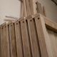 Oak Featheredge Fence Panel - Weather Capping