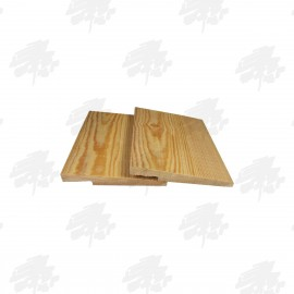 Siberian Larch Rebated Featheredge Cladding