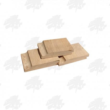 Air Dried Oak Shiplap Cladding