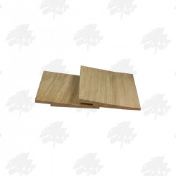 Rebated Character Grade Oak Featheredge Cladding