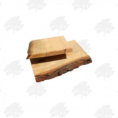 Fresh Cut Oak Waney Edged Board