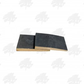 Black Painted Kiln Dried Whitewood Featheredge Cladding