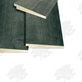 Black Painted Rebated Featheredge Cladding