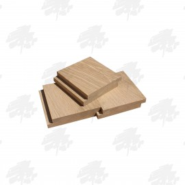 Kiln Dried Oak Half Lap Internal Cladding