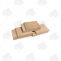 Kiln Dried Oak Shiplap Internal Cladding