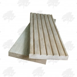 Lightweight Oak Decking 115mm