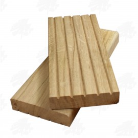 European Oak Decking 100mm
