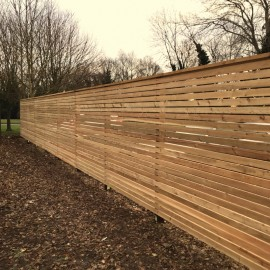 Siberian Larch Fencing Battens