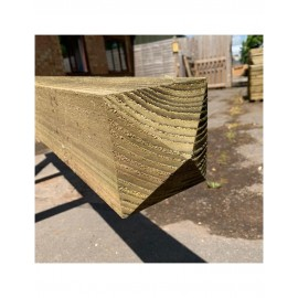 Green Treated Softwood Gate Posts