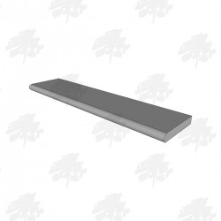 Solid Oak Window Sill Board - 125mm
