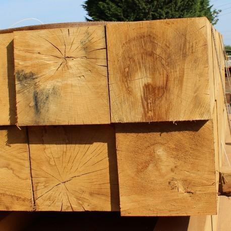 Structural Green Oak Beams 250mm x 250mm