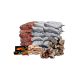 Sun-Dried African Firewood Package
