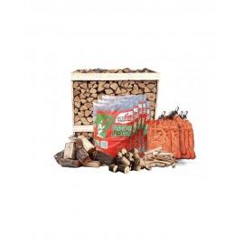 Premium Kiln-Dried Firewood Crate Package