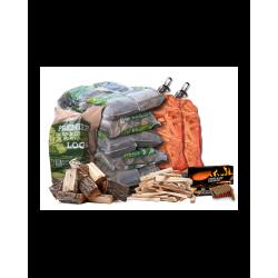 Premium Kiln-Dried Firewood Package