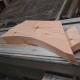 English Larch/Douglas Fir Curved Wind Brace