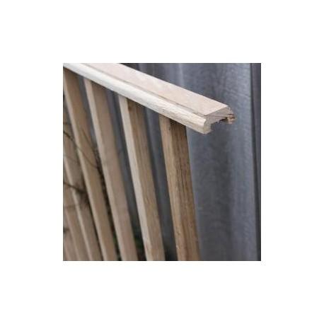 Oak Chamfered Spindle Panel