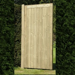 Elite Treated Softwood Tongue and Groove Framed, Ledged and Braced Pedestrian Gate