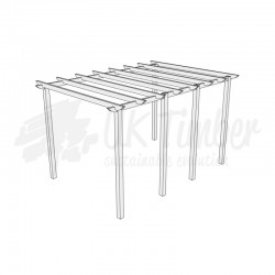 Ultima Green Treated Softwood Pergola Kits - FREE DELIVERY*