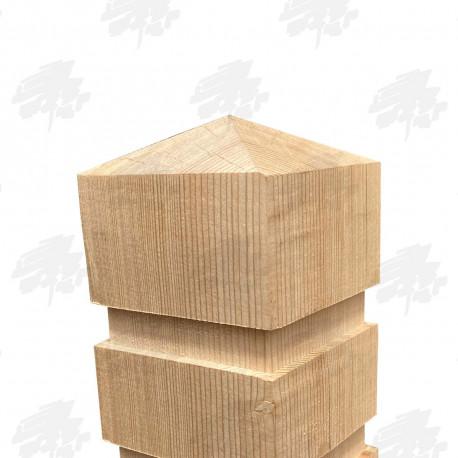 Oak Bollard - Flat Top