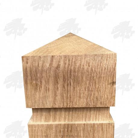 Oak Bollards - Pyramid Top