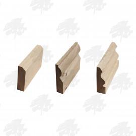 Solid American White Oak Skirting Board