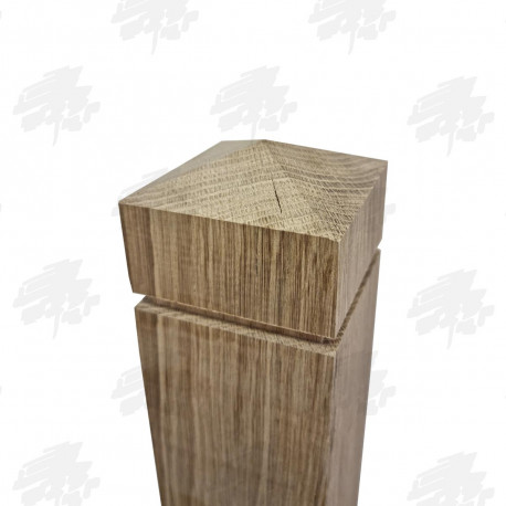 Oak Pyramid Top Newel