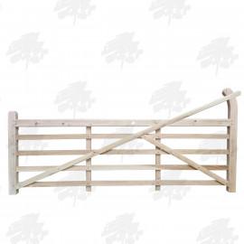 Oak Curved Heel (Ranch) Gate