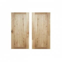 Framed Oak Doors