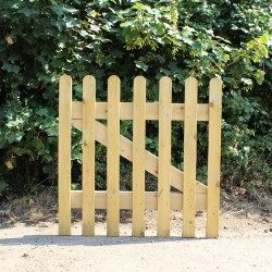 Treated Softwood Gates