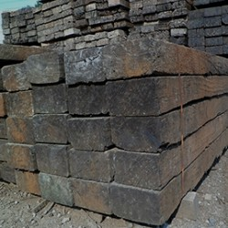 Reclaimed Untreated Railway Sleepers