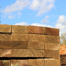 New Eco-Treated Railway Sleepers