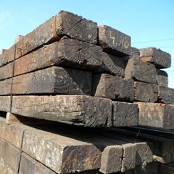 Reclaimed Crossing Timbers