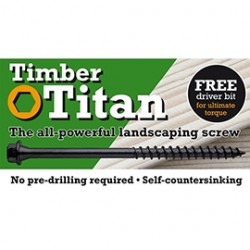 Timber Titan Wood Screws