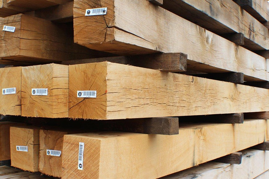 Green and Air Dried Oak Beams Explained