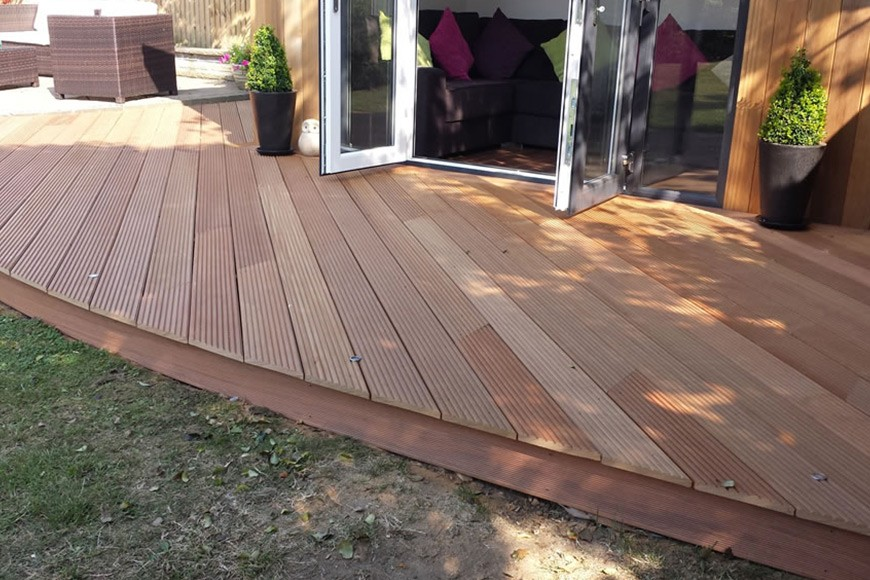 Quality Decking From UK Timber