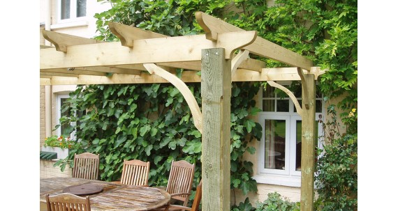 Pergola Kits: Enhancing the Natural Beauty of a Garden