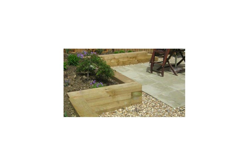 Eco Treated Softwood Railway Sleepers