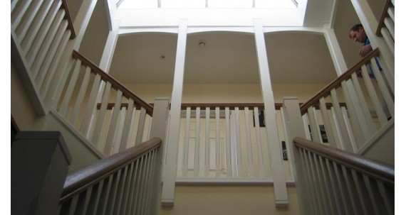 Stairs Made using Joinery Grade Oak