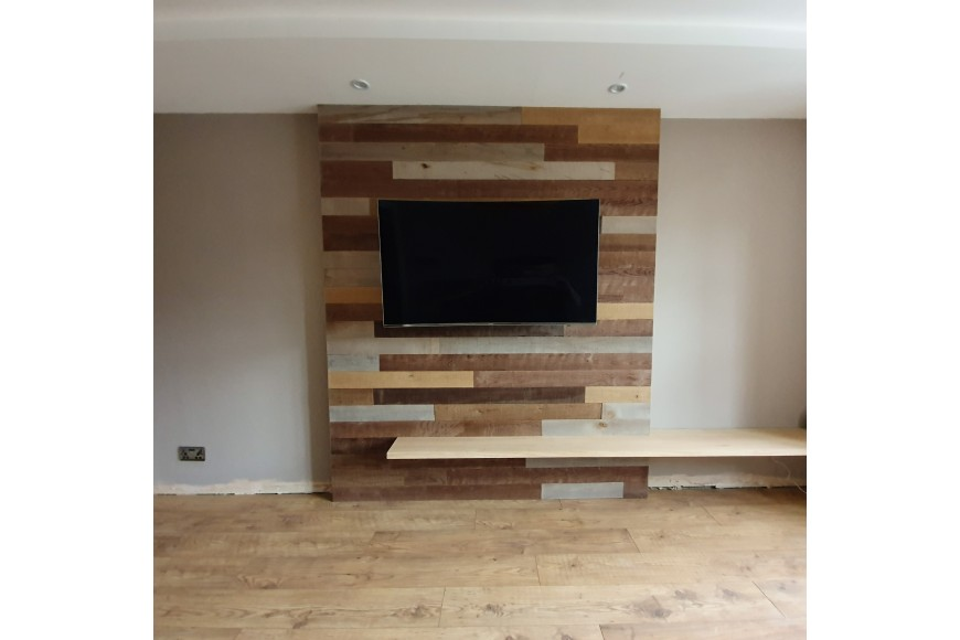 Creating a feature wall with Provincial Plank